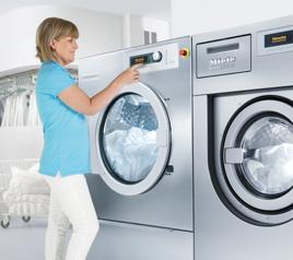 Maşini de spălat, uscătoare, calandre profesionale